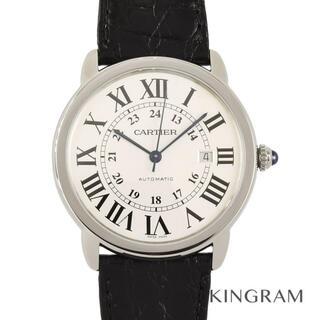 カルティエ(Cartier)のカルティエ ロンド ソロ ドゥ カルティエ ウォッチ  メンズ腕時(腕時計(アナログ))