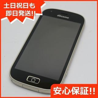 フジツウ(富士通)の超美品 SIMロック解除済 F-03K ゴールド 本体 白ロム (スマートフォン本体)