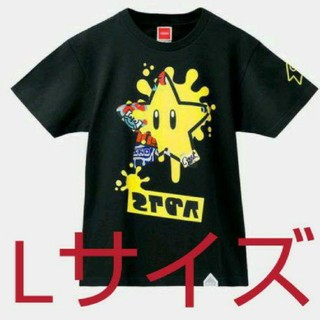 ニンテンドウ(任天堂)の新品未開封スプラトゥーン2 フェスTシャツLサイズ(Tシャツ/カットソー(半袖/袖なし))
