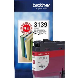 ブラザー(brother)の【brother純正】インクカートリッジマゼンタ LC3139M (PC周辺機器)