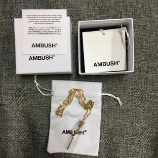 アンブッシュ(AMBUSH)のAMBUSH ROSE CHARM NECKLACE(ネックレス)