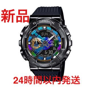 ジーショック(G-SHOCK)のGショック Metal Covered ブラック GM-110B-1AJF新品(腕時計(デジタル))