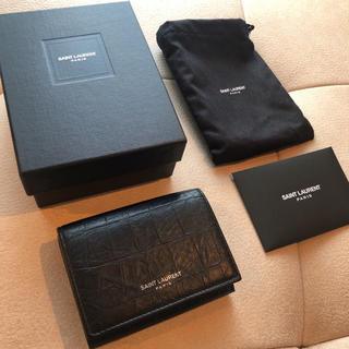 サンローラン(Saint Laurent)のSAINT LAURENTコンパクト財布(財布)