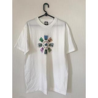 コンバース(CONVERSE)のコンバース Tシャツ オールスター カラフル インナー ホワイト スニーカー(Tシャツ/カットソー(半袖/袖なし))