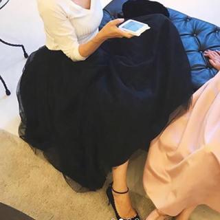 TSURU by Mariko Oikawa - ツルバイマリコオイカワ チュールスカート
