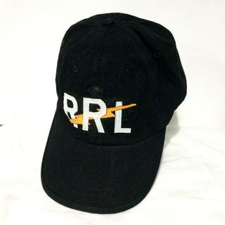 RRL - RRL ダブルアールエル RRLロゴ ボール キャップ ブラック
