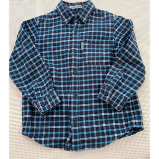 ベベ(BeBe)のBeBe チェックシャツ 110(ブラウス)