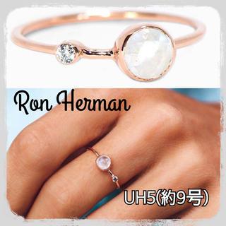 ロンハーマン(Ron Herman)の人気商品 完売続出 ロンハーマン ムーン ストーン ダブル ストーン リング(リング(指輪))