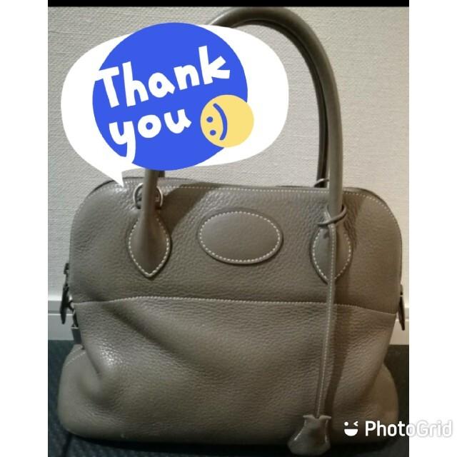 Hermes(エルメス)のSOLD OUT!! エルメス ボリード31 エトゥープ(エトープ) レディースのバッグ(ハンドバッグ)の商品写真