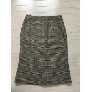 ミッシェルクラン(MICHEL KLEIN)のミッシェルクラン 茶系 スカート(ひざ丈スカート)