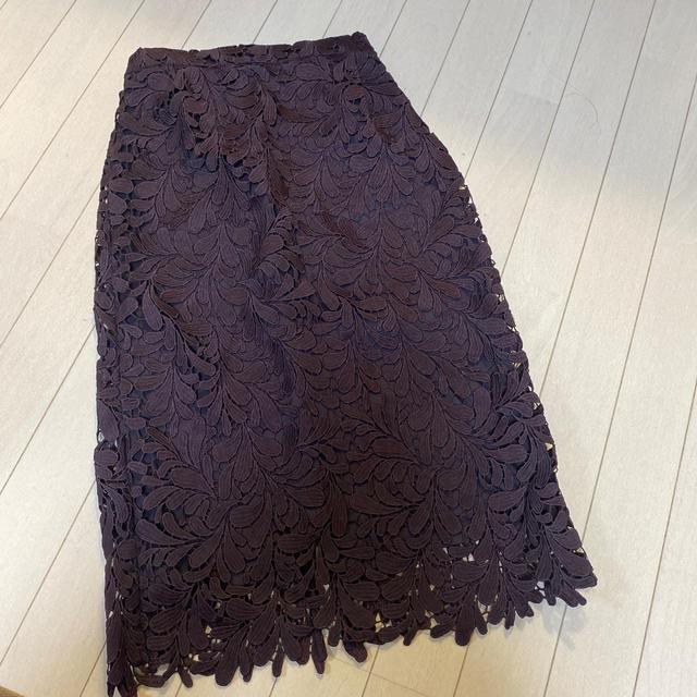 nano・universe(ナノユニバース)のレーススカート  レディースのスカート(ロングスカート)の商品写真