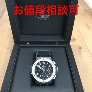 HUBLOT - 【激極美品】ウブロビックバン自動巻腕時計