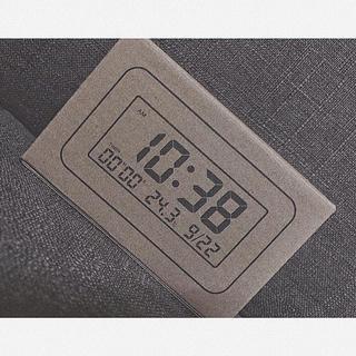 MUJI (無印良品) - 無印良品 置時計 デジタル時計〔フランフラン〕〔イケア〕〔ニトリ〕〔ザラホーム〕