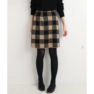 IENA - ☆新品タグ付き☆ IENA sese チェックジャガードスカート size:38
