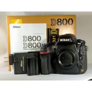 Nikon - Nikon D800 ボディ 本体