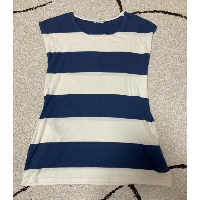 LEPSIM(レプシィム)のボーダー Tシャツ M レプシィム レディースのトップス(Tシャツ(半袖/袖なし))の商品写真