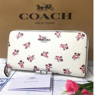 コーチ(COACH)のコーチ 長財布 小花柄  【新品】(財布)