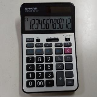 SHARP - シャープ 電卓 EL-G37