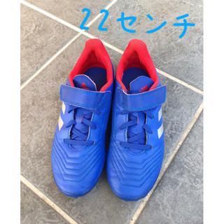 adidas - サッカー/トレーニングシューズ/22センチ