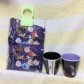 ツイステ メラミンカップ2個 お菓子2個(キャラクターグッズ)