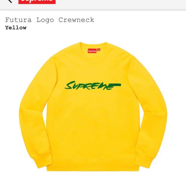 Supreme(シュプリーム)の定価以下 supreme futura logo crewneck メンズのトップス(スウェット)の商品写真