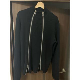 ジョンローレンスサリバン(JOHN LAWRENCE SULLIVAN)のJOHN LAWRENCE  SULLIVAN double zip knit (ニット/セーター)