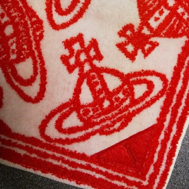Vivienne Westwood(ヴィヴィアンウエストウッド)の(訳あり・新品) Vivienne Westwood② タオルハンカチ オーブ レディースのファッション小物(ハンカチ)の商品写真