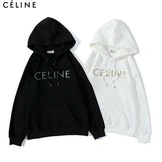 セリーヌ(celine)のCELINE 2104 パーカー/男女兼用/ロゴ 2枚13000円(パーカー)