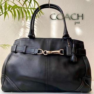 COACH - 極美品 COACH コーチ 約5,6万 大容量 レザートートバッグ