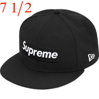 Supreme - Supreme World Famous New Era Black 7 1/2