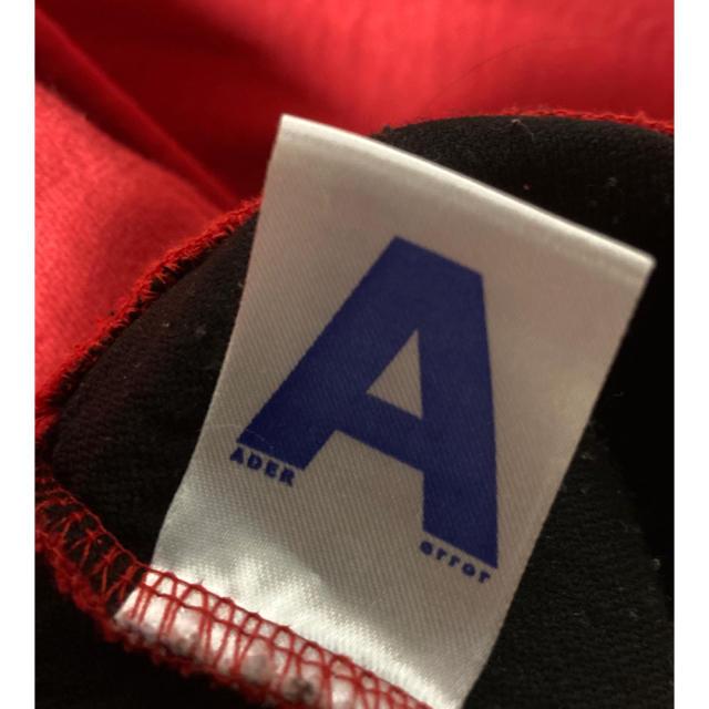 MAISON KITSUNE'(メゾンキツネ)のADERERROR アーダーエラー 初期ロゴ パーカー 韓国 メンズのトップス(パーカー)の商品写真