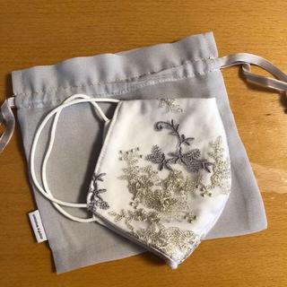 ミスティウーマン(mysty woman)のミスティーウーマン 刺繍マスク(その他)