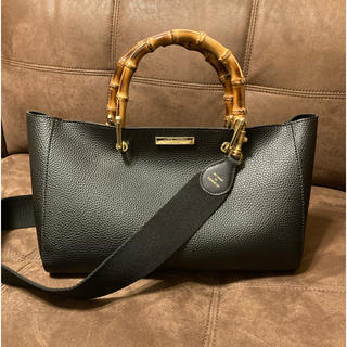 ドゥーズィエムクラス(DEUXIEME CLASSE)のkatie loxton bamboo bag ケイティロクストン&ストラップ(ハンドバッグ)