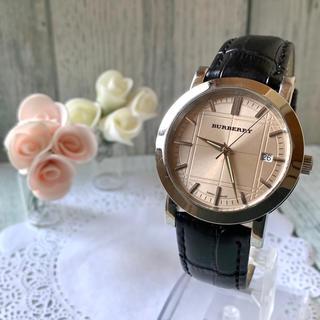 BURBERRY - 【美品】BURBERRY バーバリー BU1356 腕時計 ブラウン
