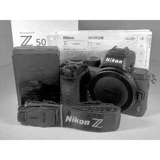 Nikon - 【1308ショット】Nikon Z50 ボディ 本体 ミラーレス zマウント