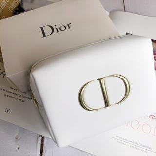 最新 Dior  ディオール  2020限定 ふわふわポーチ ノベルティ