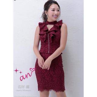 アン(an)のan 総レース ツーピースドレス キャバドレス(ナイトドレス)