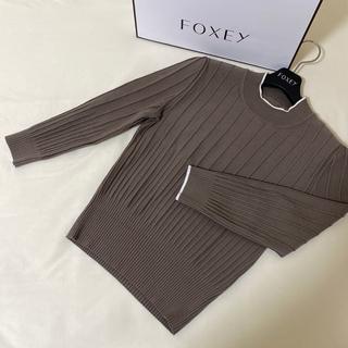 FOXEY - 定価52,920円 FOXEY 39201 ニットトップス サイズ40