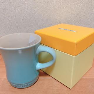 ルクルーゼ(LE CREUSET)の【ルクルーゼ】マグカップS コースタルブルー (食器)