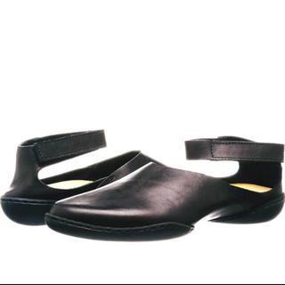 trippen - trippenトリッペンパンブラック牛革サイズ38試し履きのみタグ付き美品