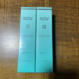 ノブ(NOV)のNOVⅢ 保湿クリーム 2点セット(フェイスクリーム)