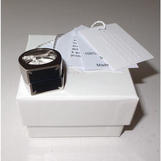 Maison Martin Margiela - マルジェラ ツー スタッカブル リング ring 指輪 sizeXS