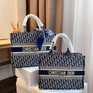 Christian Dior - クリスチャン ディオール キャンバス トートバッグ