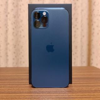 アイフォーン(iPhone)のiPhone 12 Pro パシフィックブルー 128GB SIMフリー(スマートフォン本体)