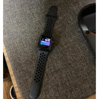 Apple Watch - アップルウォッチ ナイキ コラボ 3 美品 ブラック Apple Watch
