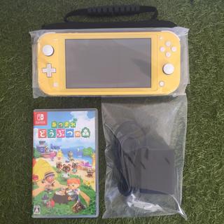 Nintendo Switch - ニンテンドースイッチ 本体 どうぶつの森セット ポーチ付 送料無料