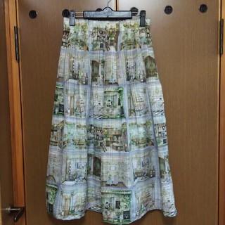 franche lippee - *試着のみ* Lippee department store スカート パステル