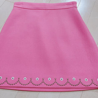 miumiu - miumiu  お花 スカート