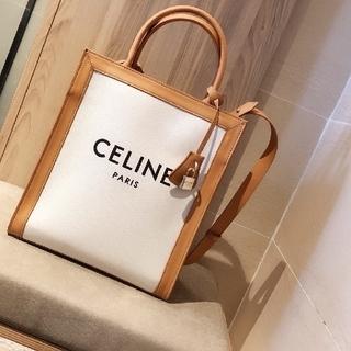 セリーヌ(celine)の【CELINE】 完売 トリオンフ ミニ バーティカル カバ トートバッグ(トートバッグ)