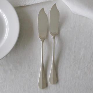 フランスアンティーク ポワソンナイフ 1本(カトラリー/箸)
